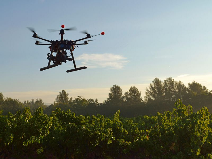 Seed planting drones