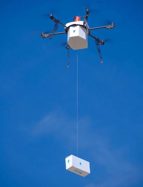 Flirtey urban delivery drone