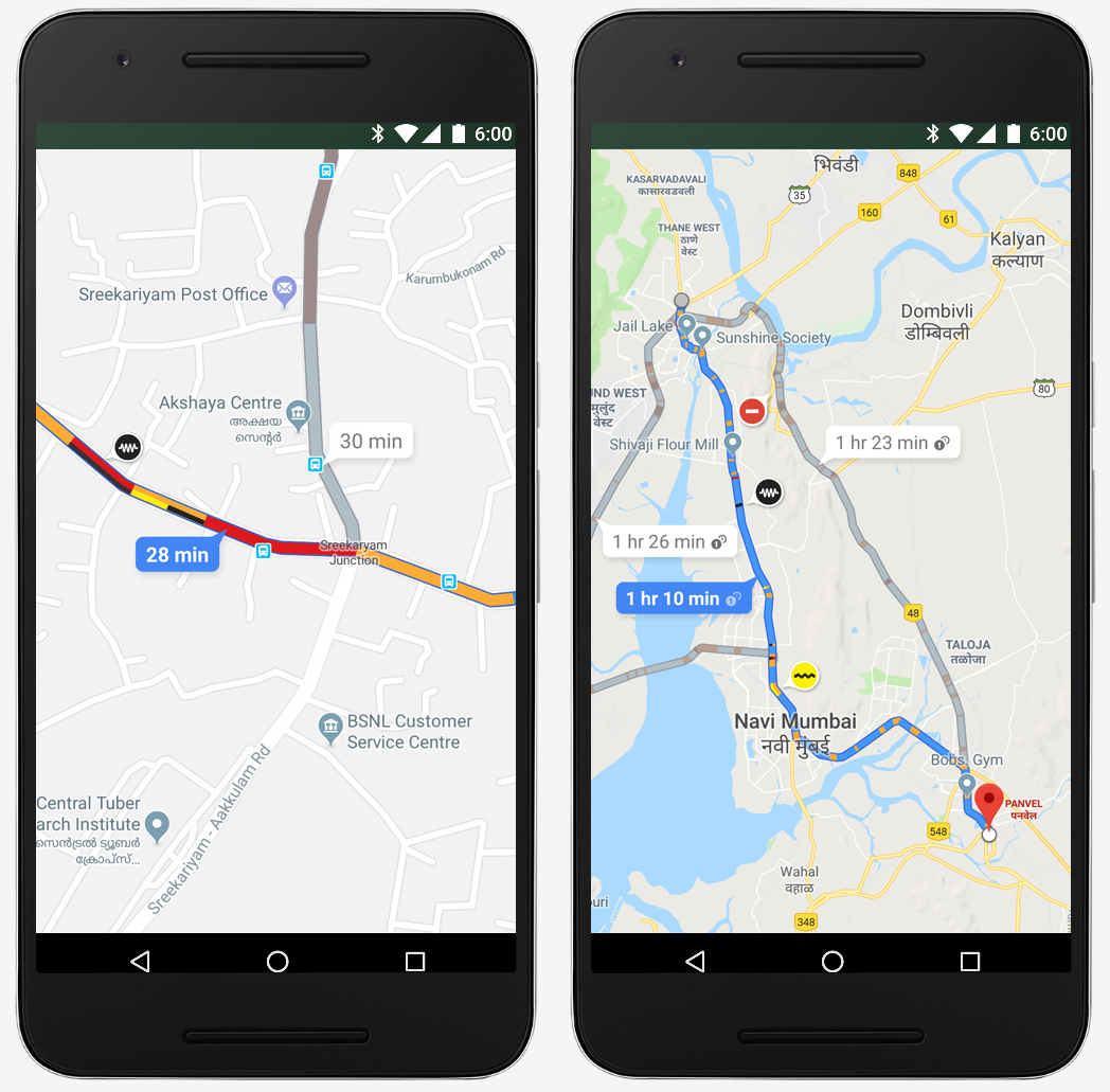 Google Maps extended
