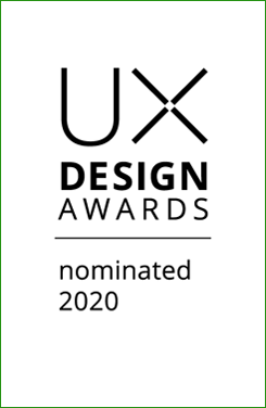 UX Design Awards Nominated 2020